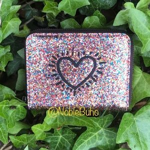 Coach x Keith Haring Small Zip Around Wallet NWT